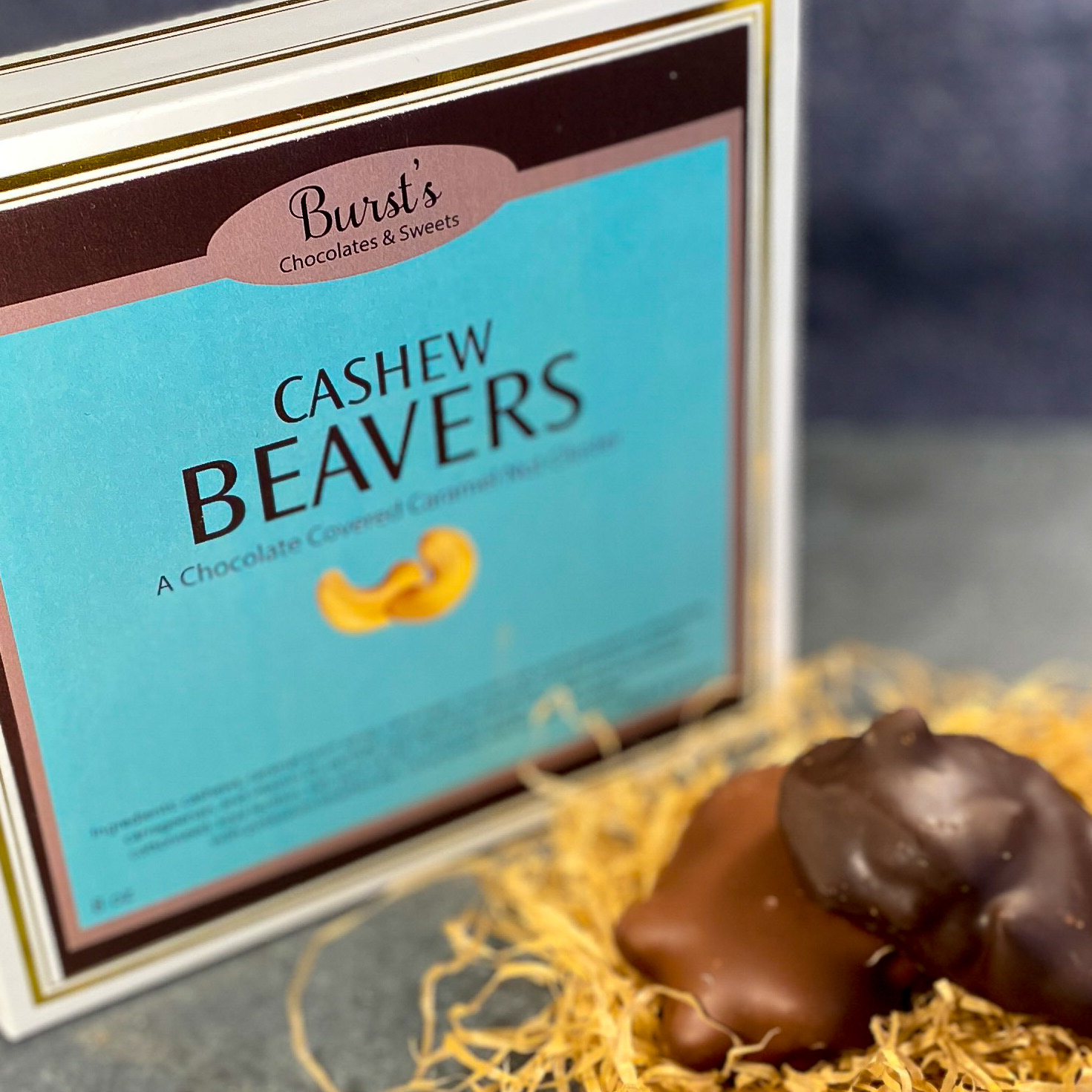 Best Chocolate Cashew Caramel Clusters