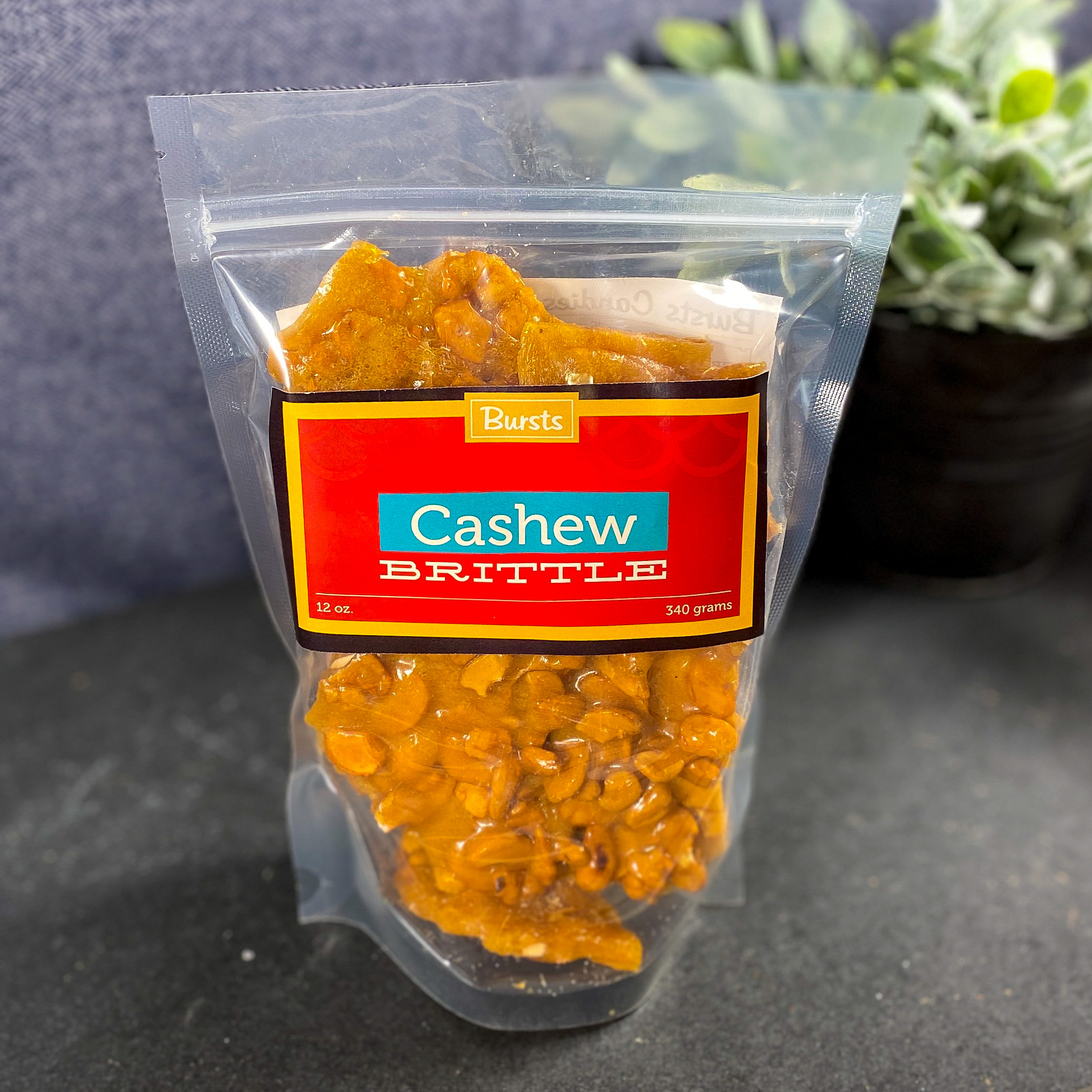 Cashew Crunch Brittle