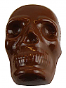 Chocolate Skull Pop