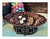 Dark Chocolate Easter Basket