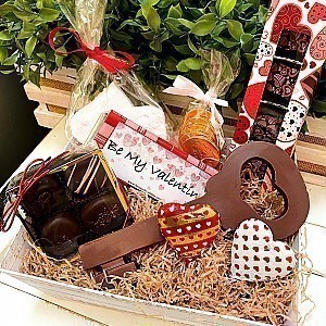 Key to My Heart Basket