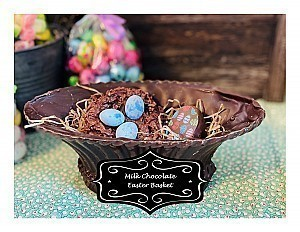 Milk Chocolate Easter Basket