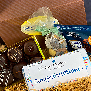 Burst's Congratulations Basket