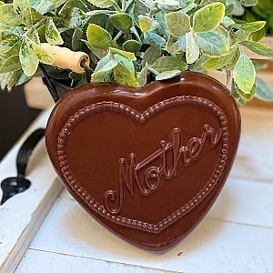 Milk Chocolate Mother Heart