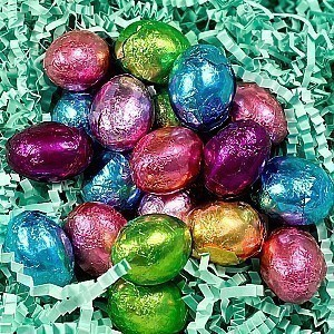 Foil Wrapped Chocolate Eggs