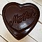 Dark Chocolate Mother Heart
